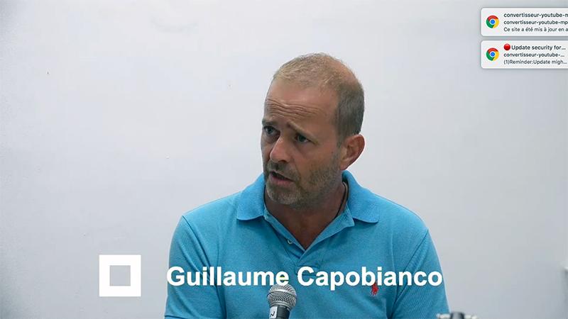 MUNICIPALES 2020 Guillaume Capobianco candidat à La Seyne-sur-Mer