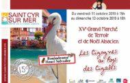 Grand marché de terroir et de Noël Alsacien à St Cyr sur Mer