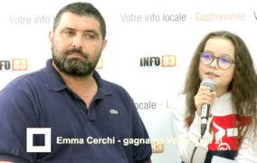 Emma Cerchi revient sur sa victoire avec Info83