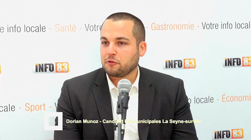 MUNICIPALES 2020 à La Seyne-sur-mer avec Dorian Munoz