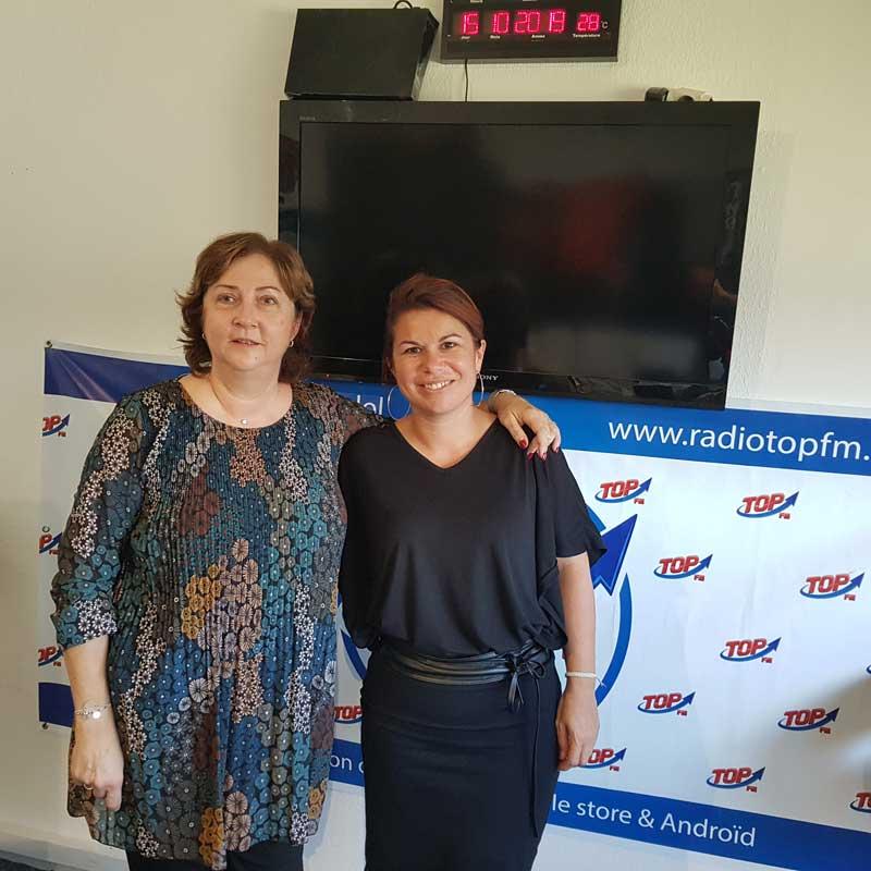 INFO 83 et TOP FM reçoivent Cécile Martinez de l'association