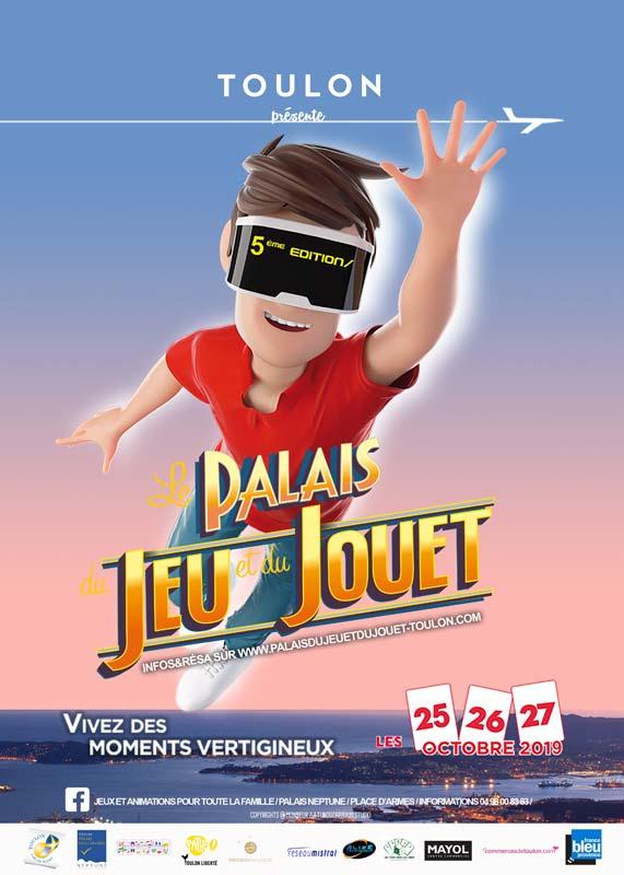 Palais du Jeu et du Jouet 2019 : des centaines d'animations ludiques à Toulon !