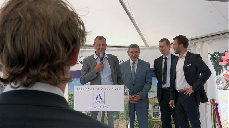 ALTAREA COGEDIM pose la première pierre au Domaine de Faveyrolle à Ollioules