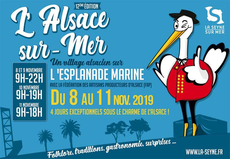 L'Alsace sur Mer à La Seyne-sur-Mer : du 8 au 11 novembre 2019