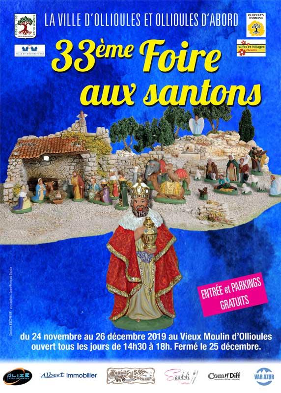 33ème Foire aux santons d'Ollioules 2019