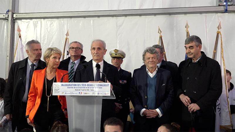 Chalucet : le nouveau éco-quartier à Toulon, inauguré
