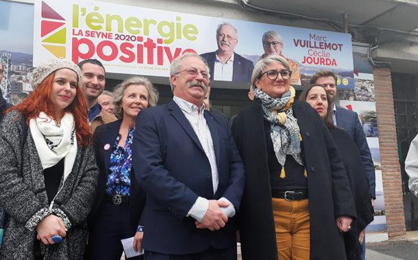MUNICIPALES2020 à La Seyne-sur-Mer, Marc Vuillemot et Cécile Jourda candidats