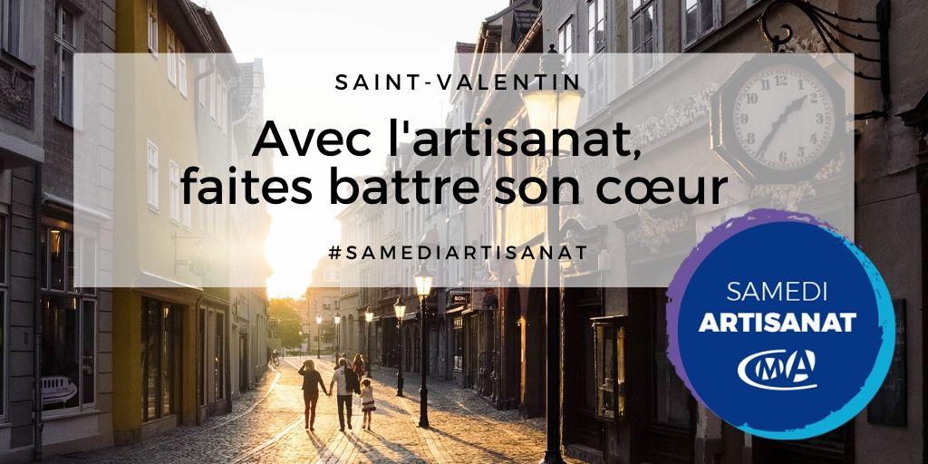 Pour la St-Valentin, pensez à vos artisans ! #SamediArtisanat