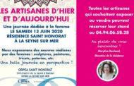 Les artisanes d'hier et d'aujourd'hui, le 13 juin 2020 à La Seyne