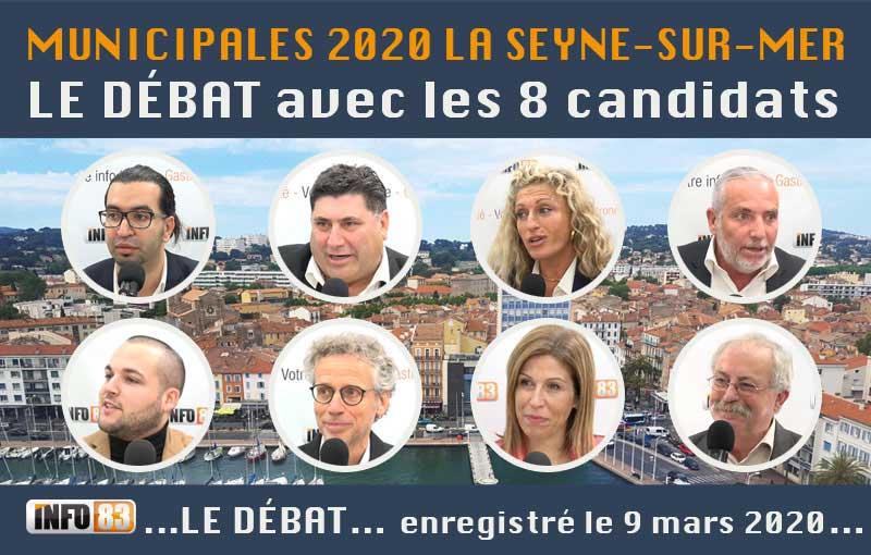 MUNICIPALES 2020 de LA SEYNE : le débat enregistré le 9 mars 2020