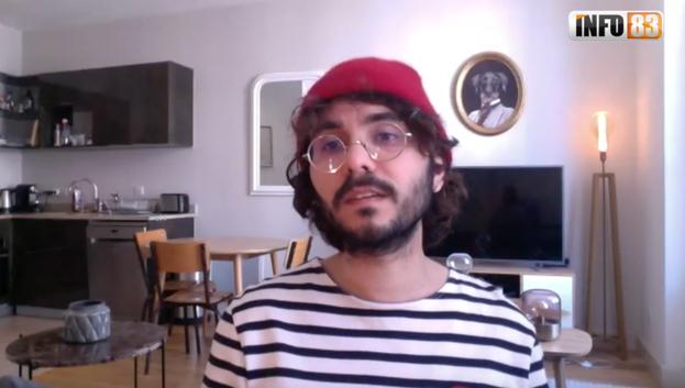 Pascal Lelli, le jeune directeur du théâtre Colbert à Toulon, entre espoir, doute et sérénité