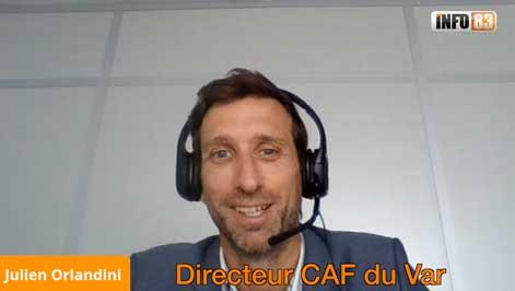 La CAF du Var reste mobilisée pour les familles Varoises, entretien avec Julien Orlandini le directeur départemental