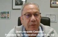 Jean-Jacques Castillon, Président de la Fédération du BTP du Var et l'après crise du Covid 19 et les décharges illégales