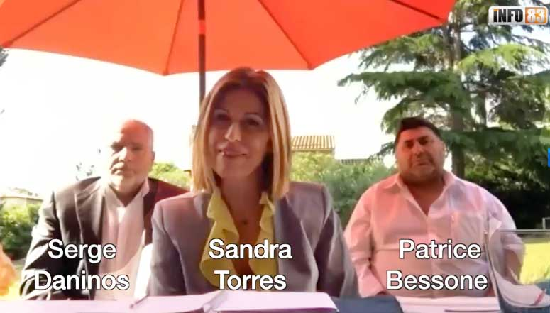 #MUNICIPALES2020 #LASEYNE Sandra Torres,