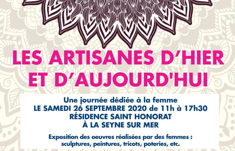 Artisanes d'hier et d'aujourd'hui, samedi 26 septembre à La Seyne-sur-Mer