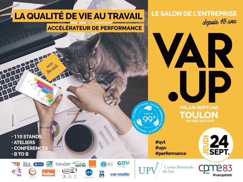 Le salon de l'entreprise à Toulon : Var.up, 18 ans déjà !