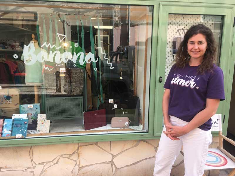 Marisa Bischoff lance une collection de t-shirts colorés en coton bio pour enfants et adultes