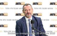 Interview de Christian Fankhauser, directeur de la Banque de France dans le Var