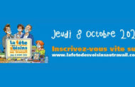 FÊTE DES VOISINS AU TRAVAIL et au TÉLÉTRAVAIL, le 8 octobre 2020