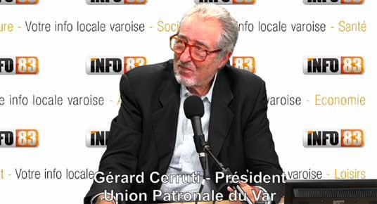 Intervention de Gérard Cerruti, Président de l'UPV