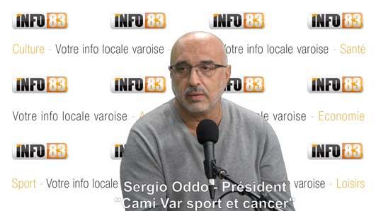 Sport & Cancer, rencontre avec l'association CAMI Var et son Président Sergio Oddo.