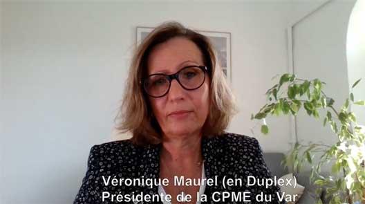 La CPME Var réagit face à la crise qui frappe le Var. Entretien avec V. Maurel, Présidente Varoise