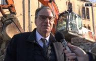 Renaud Muselier, Président de la région PACA présente ses voeux à l'occasion de la visite du chantier Montéty à Toulon