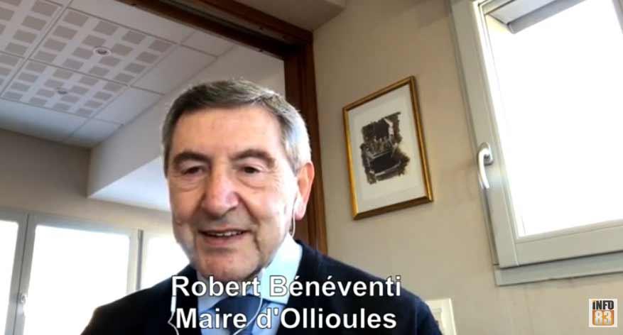Voeux 2021 de Robert Bénéventi, maire d'Ollioules