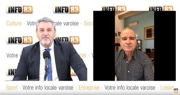 Voeux 2021 de Thierry Albertini, maire de La Valette du Var