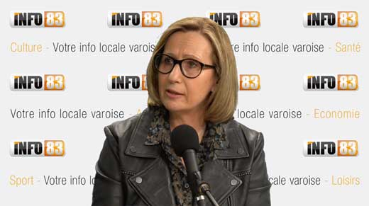 Véronique Maurel, Présidente de la Confédération des Petites et Moyennes Entreprises du Var