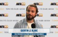 Interview Quentin Le Blanc - Vice Président de la FEDET (Fédération des Étudiants Toulonnais)