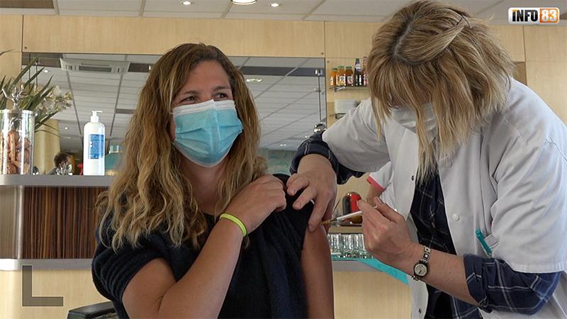 EHPAD Notre Dame de la Paix à Toulon : campagne de vaccination contre la COVID-19 - vidéo.