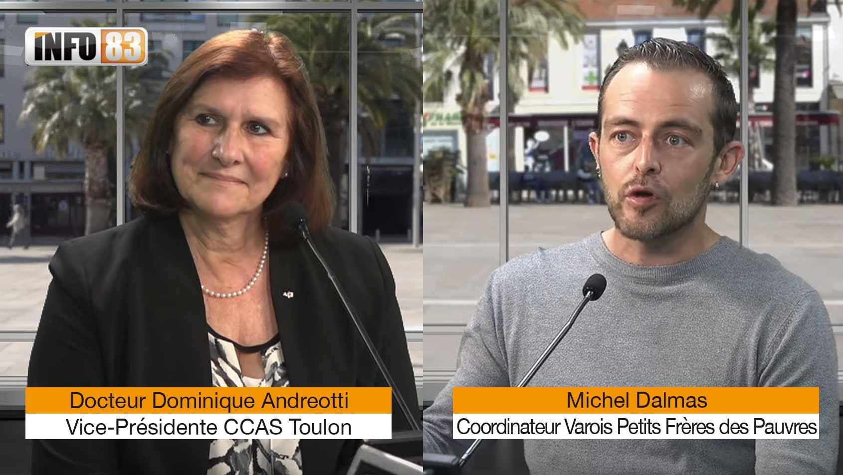 CCAS de Toulon et Petits Frères des Pauvres mobilisés pour nos aînés