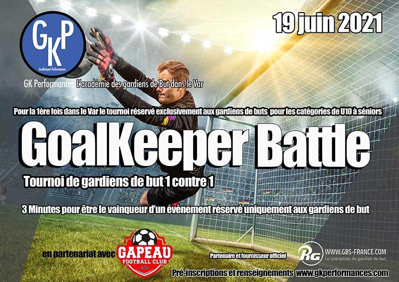  Goalkeeper battle : réservé exclusivement aux gardiens de but !