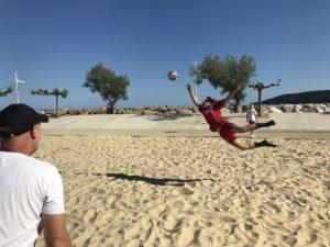 Goalkeeper battle
