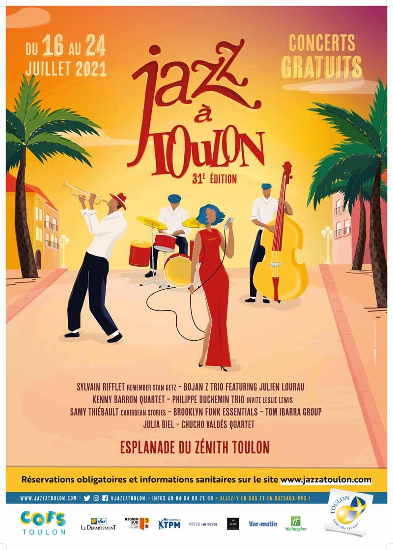 festival de jazz à Toulon