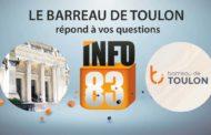 Droit : les avocats du barreau de Toulon au micro d'Info83