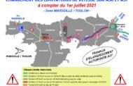 Limitation de vitesse à Toulon sur l'A50 et l'A57 à partir du 1er juillet 2021