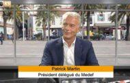 Le numéro 2 du MEDEF, Patrick Martin, en visite à Toulon