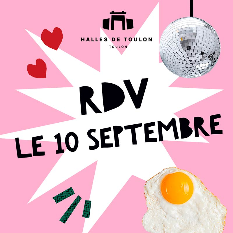Les Halles de Toulon ouvrent leurs portes le 10 septembre 2021