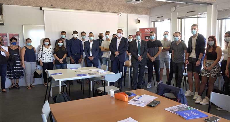 Formation : L'IFAG Toulon ouvre ses portes avec la CCI du Var