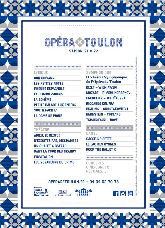 opéra de Toulon 2021 2022