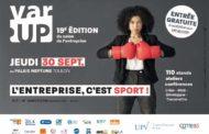 Varup, le salon de l'entreprise, le 30 septembre 2021 à Toulon