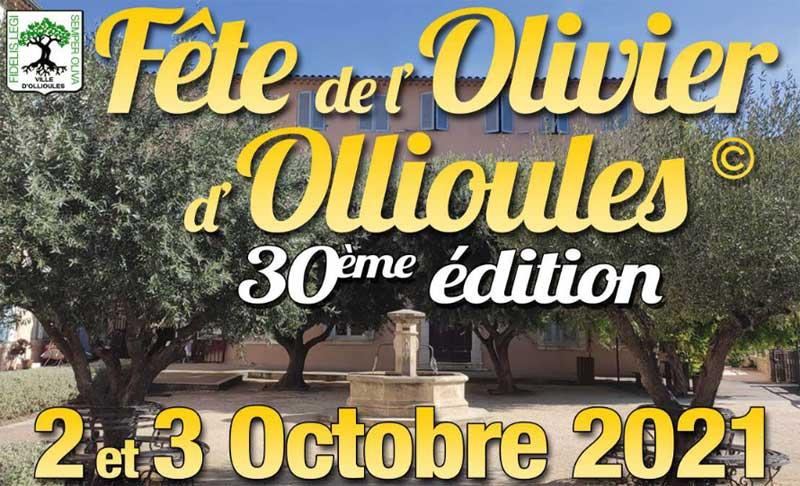 Fête de l'Olivier d'Ollioules 2021 : M. Bénéventi nous présente cette 30ème édition