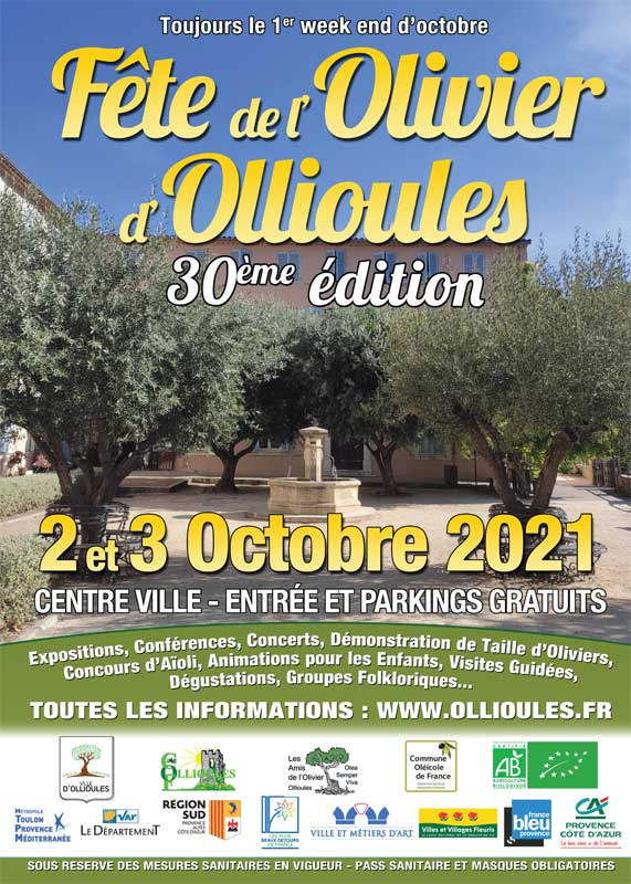 fête de l'olivier d'ollioules