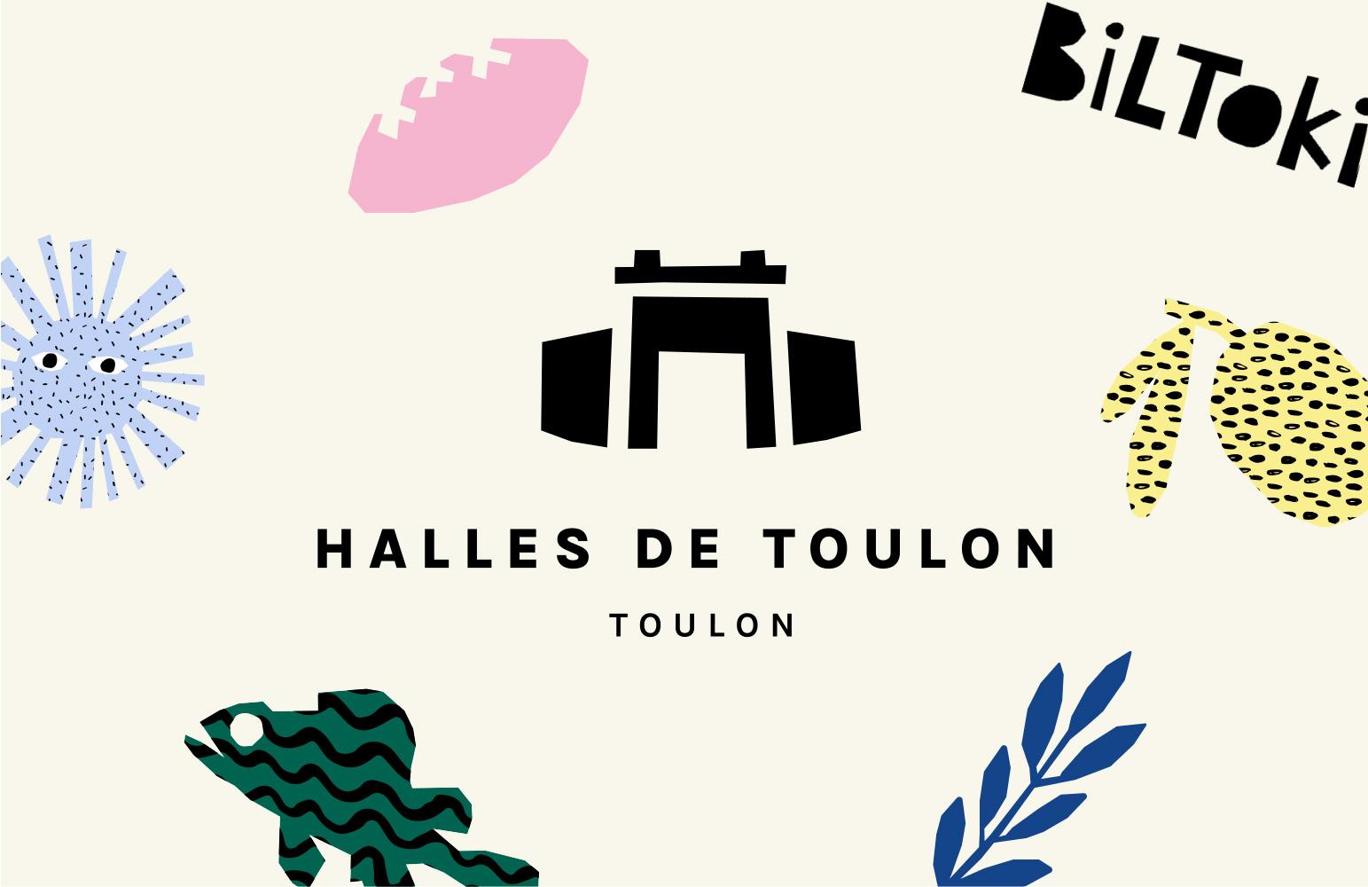 logo halles de Toulon