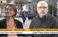 Valérie Marrone et Malik Dahman, candidats à la Chambre de Métiers du Var